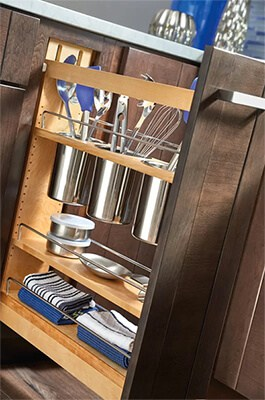 Custom Kitchen Cabinet Accessories
