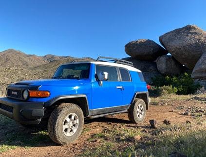 Phoenix Arizona Offroad Trail