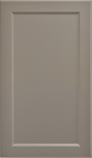 Custom Cabinet Door Artesia RTF Gauntlet Grey