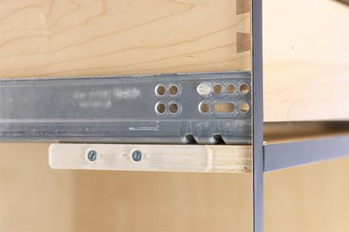 Custom Cabinet Drawer Slide