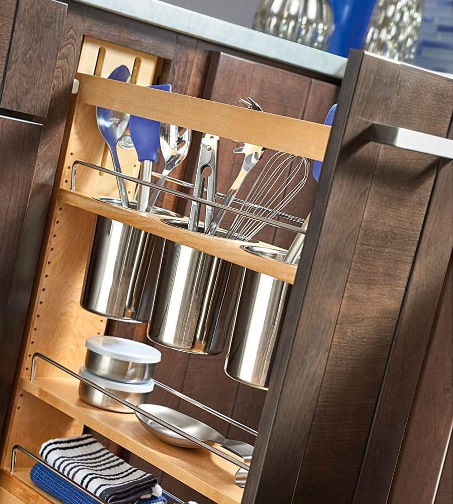 custom kitchen cabinet organizer